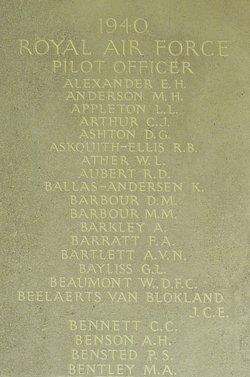 Pilot Officer Clarence Charles Bennett
