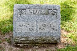 Annie J <i>Faux</i> Weaver
