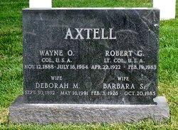 Wayne O Axtell