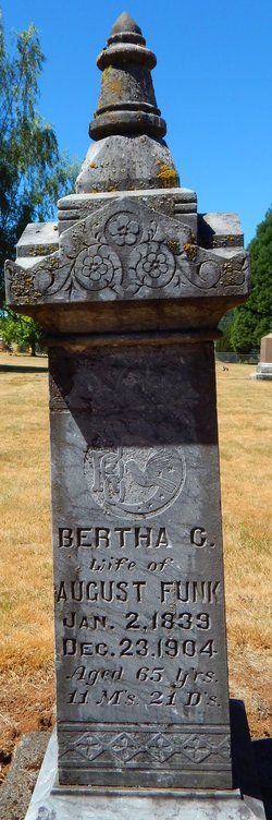 Bertha C. <i>Leist</i> Funk