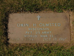 Orin H Olmsted