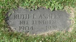 Ruth L <i>Lundeen</i> Ashley