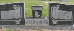 Rosa Lee <i>Harrison</i> Alexander