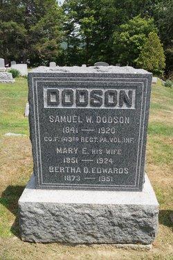 Pvt Samuel Wesley Dodson