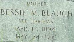 Bessie M <i>Hartman</i> Blauch