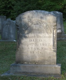 Eliza Anna <i>Buntin</i> Barnard