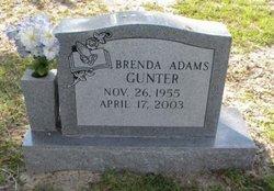 Brenda Faye <i>Adams</i> Gunter