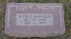 Willis Fred Barfield, Jr