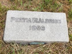 Pertia W. Aldrich