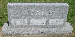Lena <i>Hedrick</i> Adams