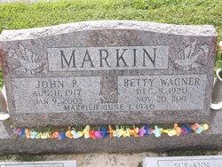Betty <i>Wagner</i> Markin