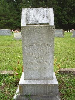 W. M. McGriff