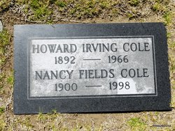 Nancy <i>Fields</i> Cole