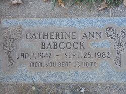 Catherine Ann <i>Richards</i> Babcock
