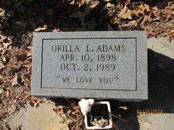 Orilla <i>Lang</i> Adams
