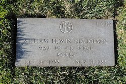 Maj William Edwin Nicholson
