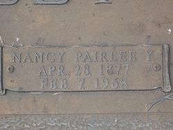 Nancy Pairlee <i>Yarbrough</i> Tilley