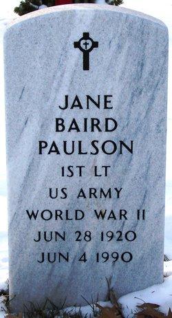 Helen Jane <i>Baird</i> Paulson