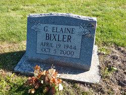 Elaine G. <i>Rex</i> Bixler