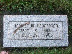 Harriet Delight <i>Warner</i> Henderson