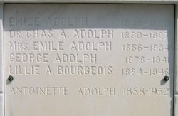 Dr Charles Augustin Adolph