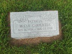 Patricia Anne Pat <i>McCue</i> Carpenter