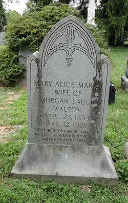 Mary Alice <i>March</i> Walton