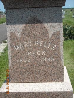 Mary <i>Beltz</i> Beck
