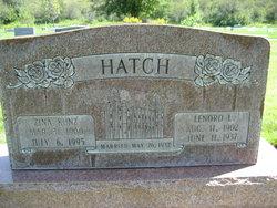 Zina Kunz <i>Hatch</i> Cox