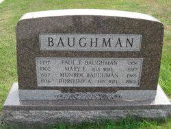 Mary Elizabeth <i>Hetrick</i> Baughman