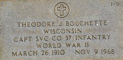 Capt Theodore J. Bouchette