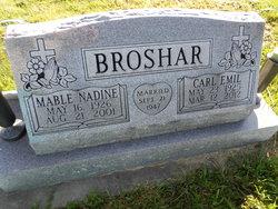 Mable Nadine <i>Covington</i> Broshar