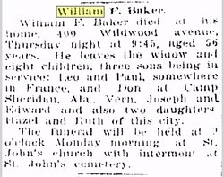 William Francis Baker