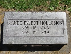 Maud <i>Talbot</i> Hollomon