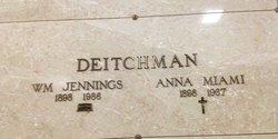 Anna Mima Miami <i>Ritchie</i> Deitchman