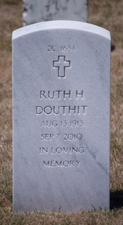 Ruth H Douthit