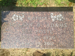 Joanne Olive <i>Posti</i> Adams