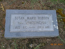 Susan Marie <i>Worthington</i> Robson