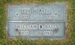 Eva W <i>Weber</i> Ball
