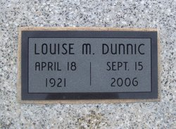 Louise M. <i>George</i> Dunnic