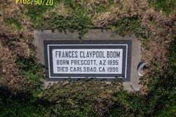 Frances <i>Claypool</i> Boom