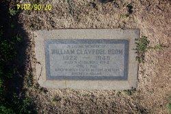 William Claypool Boom