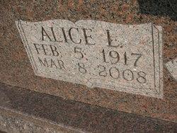 Alice L <i>Allen</i> Allen