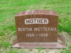 Bertha <i>Kroening</i> Wetterau
