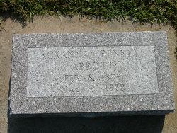 Roxanna R <i>Bennett</i> Abbott