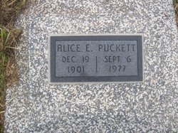 Alice E Puckett