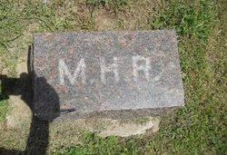 Martha Mattie <i>Hammond</i> Rorick