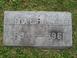 Freda Elizabeth <i>Schaaf</i> Billeter