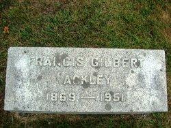 Francis Gilbert Ackley