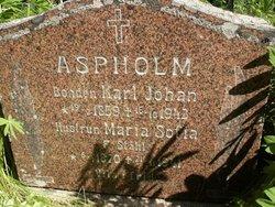 Maria Sofia <i>St�hl</i> Aspholm